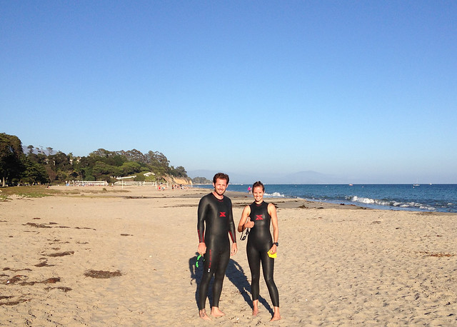 Santa Barbara triathletes