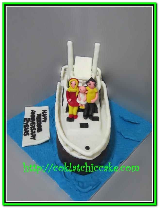 Cake Boat
