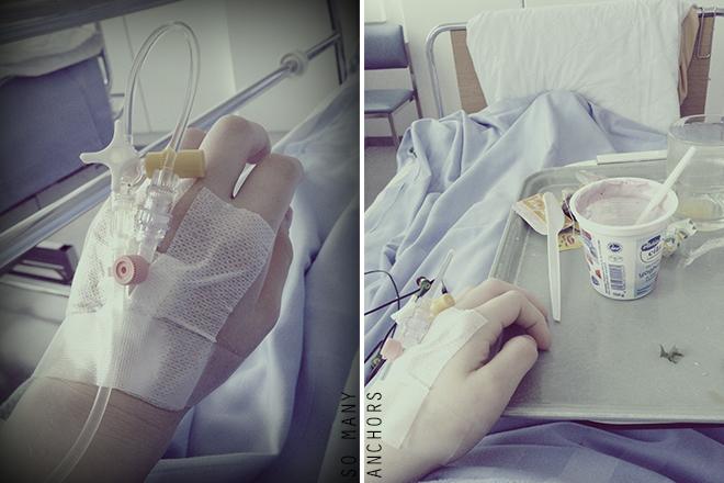 sairaalassa
