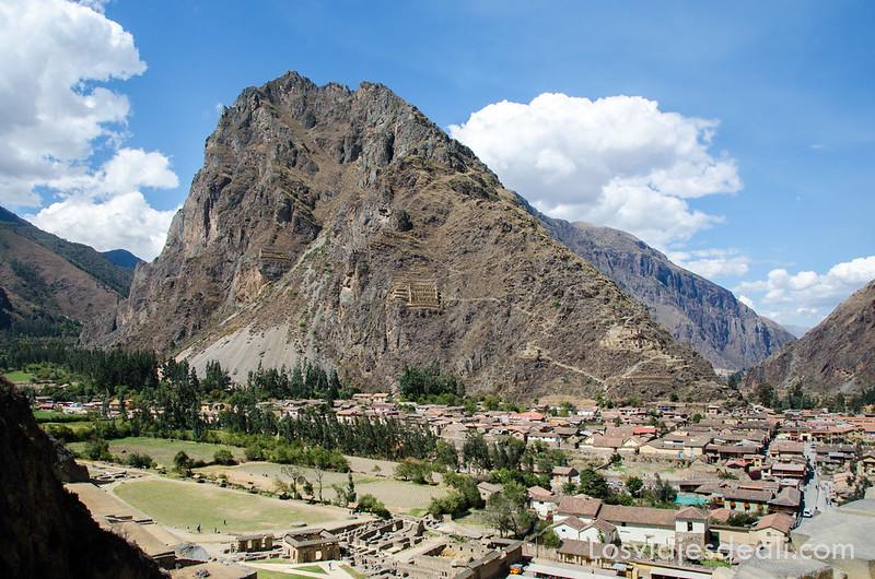 Ollantaytambo en valle sagrado de los incas