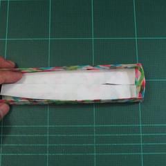 วิธีพับกล่องของขวัญแบบมีฝาปิด (Origami Present Box With Lid) 030