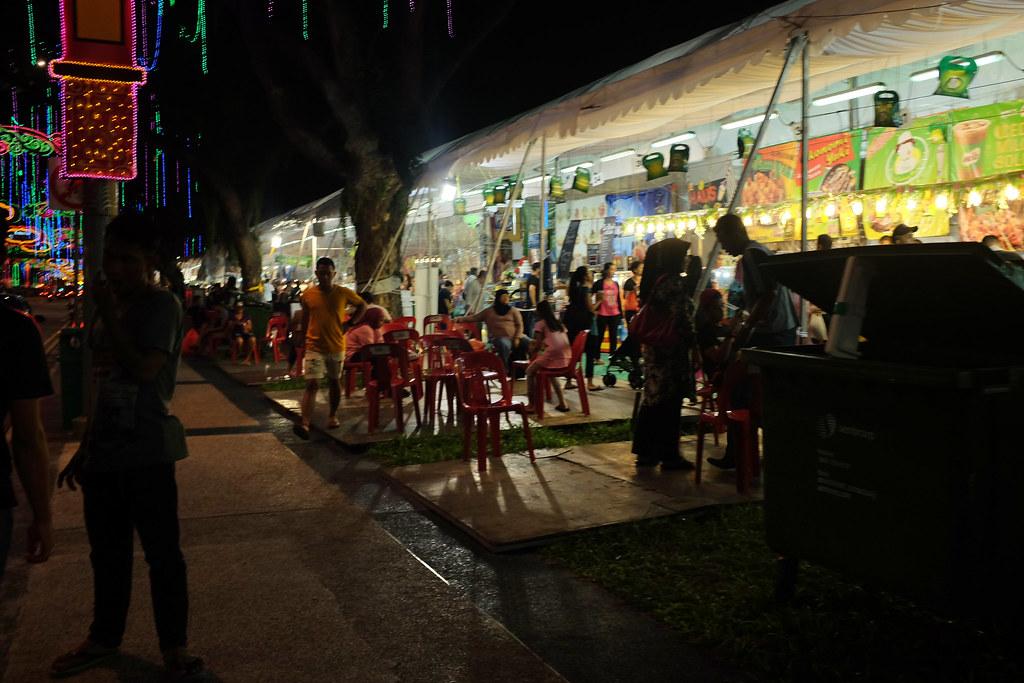 Raya bazaar at Geylang Serai