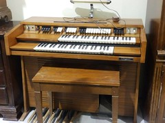 computer component(0.0), fortepiano(0.0), harmonium(0.0), digital piano(0.0), string instrument(0.0), celesta(1.0), piano(1.0), musical keyboard(1.0), keyboard(1.0), spinet(1.0), electric piano(1.0), organ(1.0), player piano(1.0), electronic instrument(1.0),