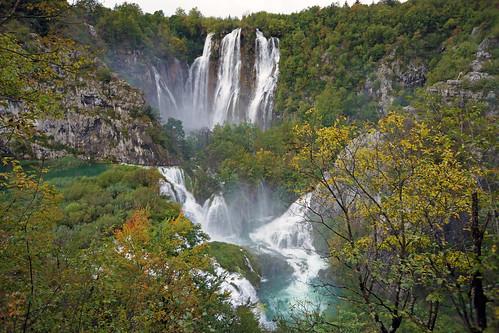 autumn waterfall nationalpark wasserfall herbst croatia 2014 kroatien plitvičkajezera plitwitzerseen unescoweltnaturerbe nationalparkplitvicerseen dorenawm nex7