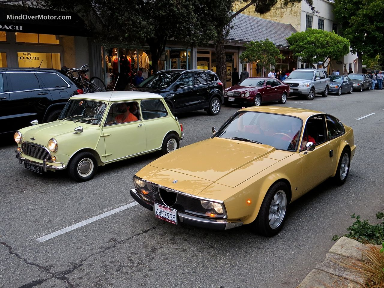 Mini and Alfa Zagato