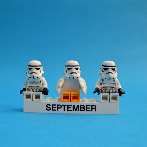 Stormtrooper September is coming!