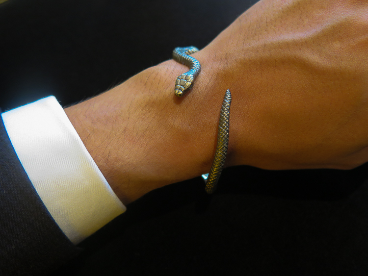 Solange Azagury-Partridge Snake bangle