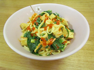 Primavera-Style Coconut Cashew Noodles
