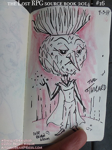 09-03-2014 #dailydrawing #lostRPG the Thisard