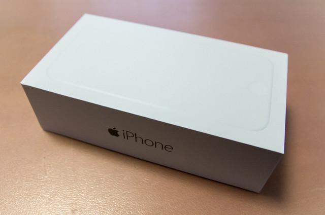 iPhone 6 開封の儀なんちゃって!