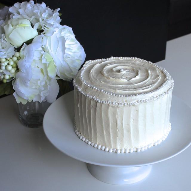 Whiteout Cake
