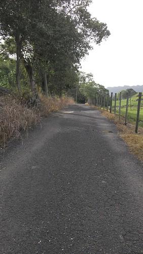 private walk road