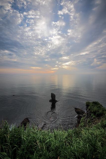 Morning clouds near Kiritappu, Hokkaido, Japan