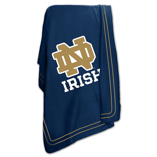 Notre Dame Fighting Irish NCAA Classic Fleece Throw