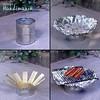 Brilliant Tin Can Use - DIY BBQ