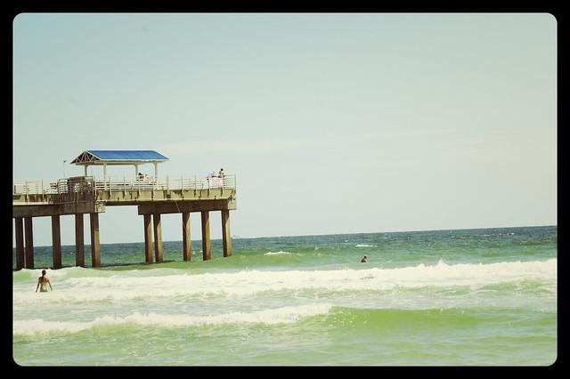 pier view & sea
