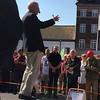 #carlbildt #utrikesminister talar på #stortorget i #lund #alliansen #nyamoderaterna @nyamoderaterna