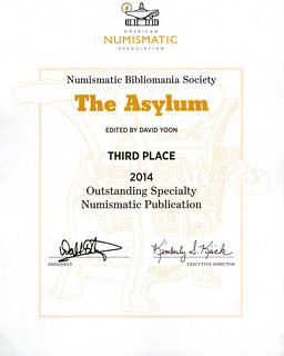 Asylum ANA Award 2014