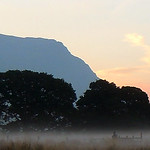 Sunrise&Mist in Llanberis.
