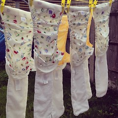 Typical laundry day #reusables #nappies #baby #naturemum #joysofmotherhood #bambinomiosolo #lovenature #nodiapers