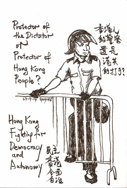 Protector of the Dictator or Protector of the HK People?
