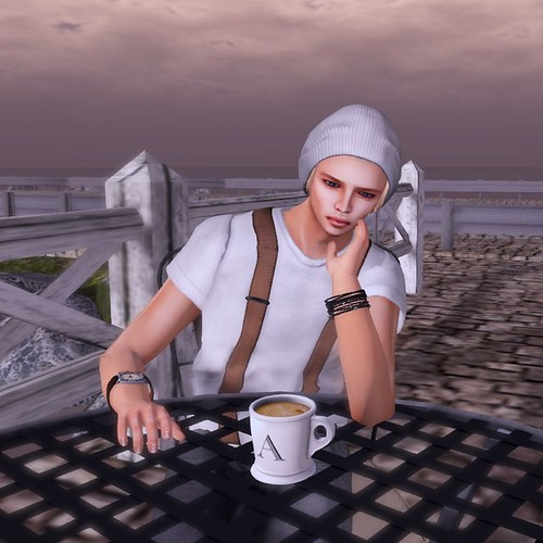 Lost in the coffee!
