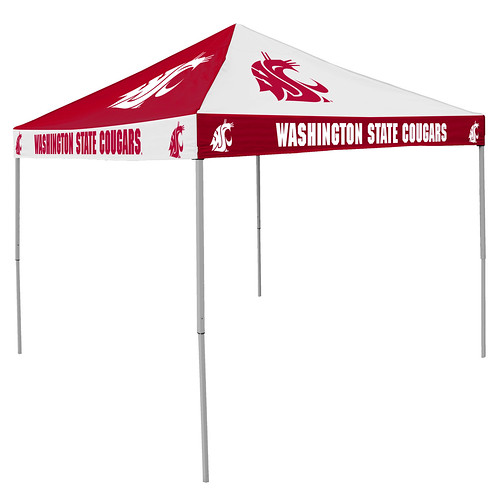 Washington State Cougars Checkerboard Tailgating Tent