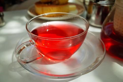 Herbal tea in Kamakura