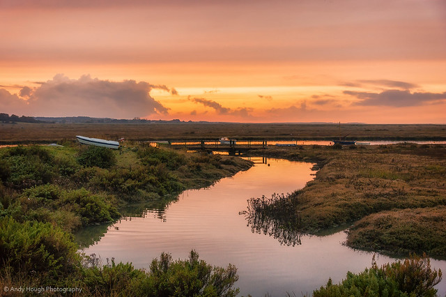 Early evening at Blakeney Point