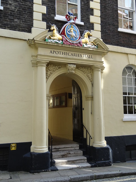 06a - Apothecaries Hall entrance