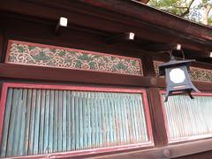 八坂神社の塀
