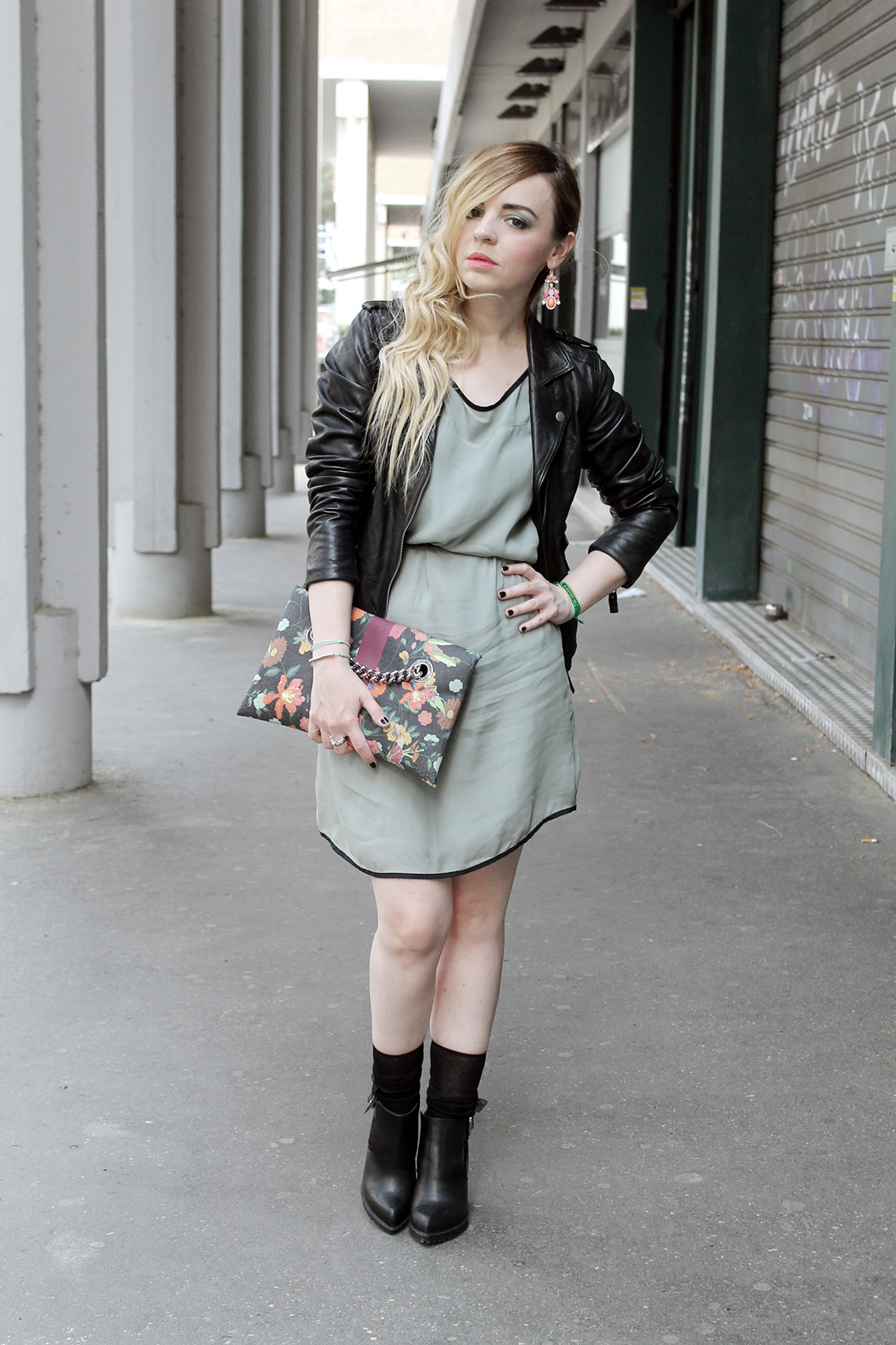 Look rock chic Dressing and Toppings