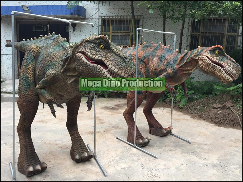 Two T-Rex Suits