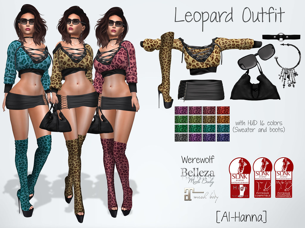 [Al-Hanna] Leopard Outfit