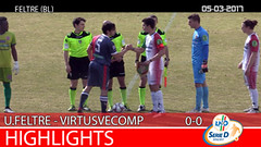 Union Feltre-Virtus V. del 05-03-17