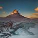 Kirkjufellsfoss sunset, Iceland by FollowingNature (Yao Liu)