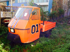 Only in #AostaValley apecar #GeneralLee