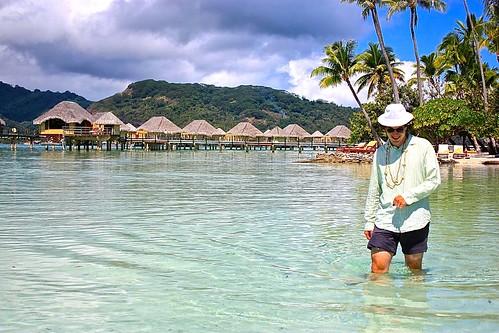 Le Tahaa reef