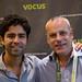 Small photo of Adrian Grenier and Richard Binhammer
