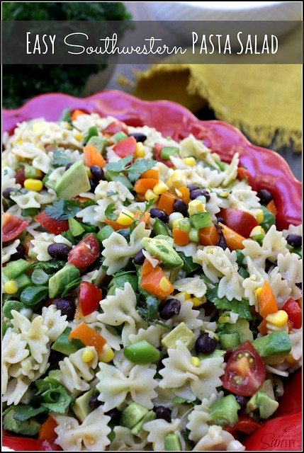 http://www.adashofsanity.com/2014/06/easy-southwestern-pasta-salad/