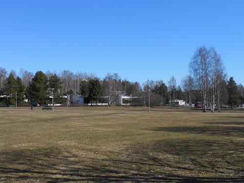 Nurminäkymä, Pohjois-Tapiola Espoo 10.4.2014