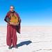 Small photo of A Taiwanese Monk at the Salar of Uyuni