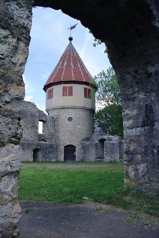 Honberg Castle Ruins, Tuttlingen, Germany - SpottingHistory com