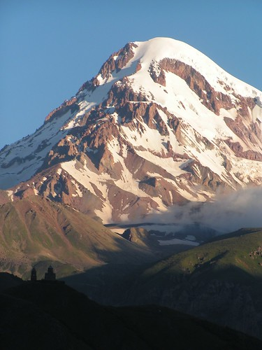 caucasus republicofgeorgia geocode:accuracy=2000meters geocode:method=googleearth mountkazbegi geo:country=republicofgeorgia