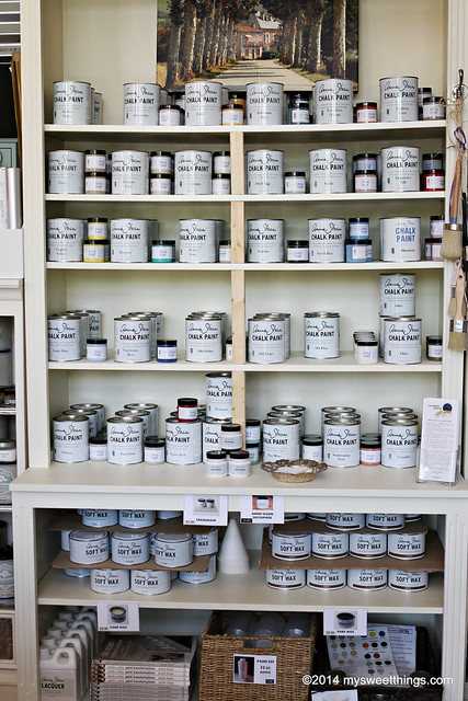 Annie Sloan Chalk Paint Display