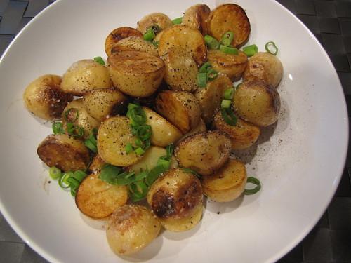 Crispy Salt & Vinegar Potatoes