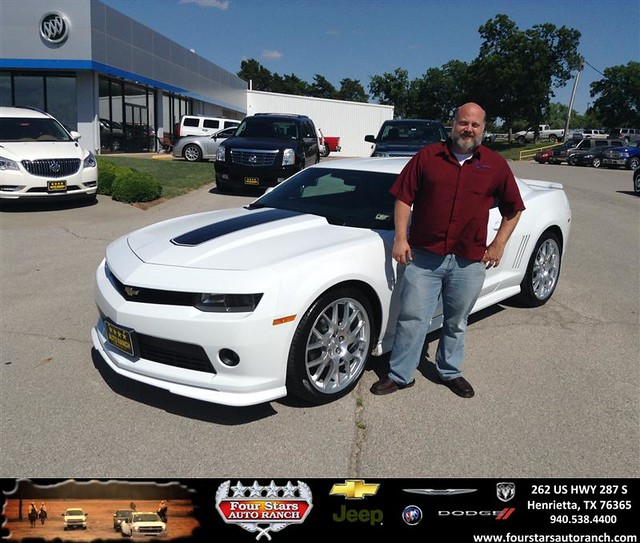 congratulations to dusty potter on your chevrolet camaro purchase from dewayne aylor at four. Black Bedroom Furniture Sets. Home Design Ideas