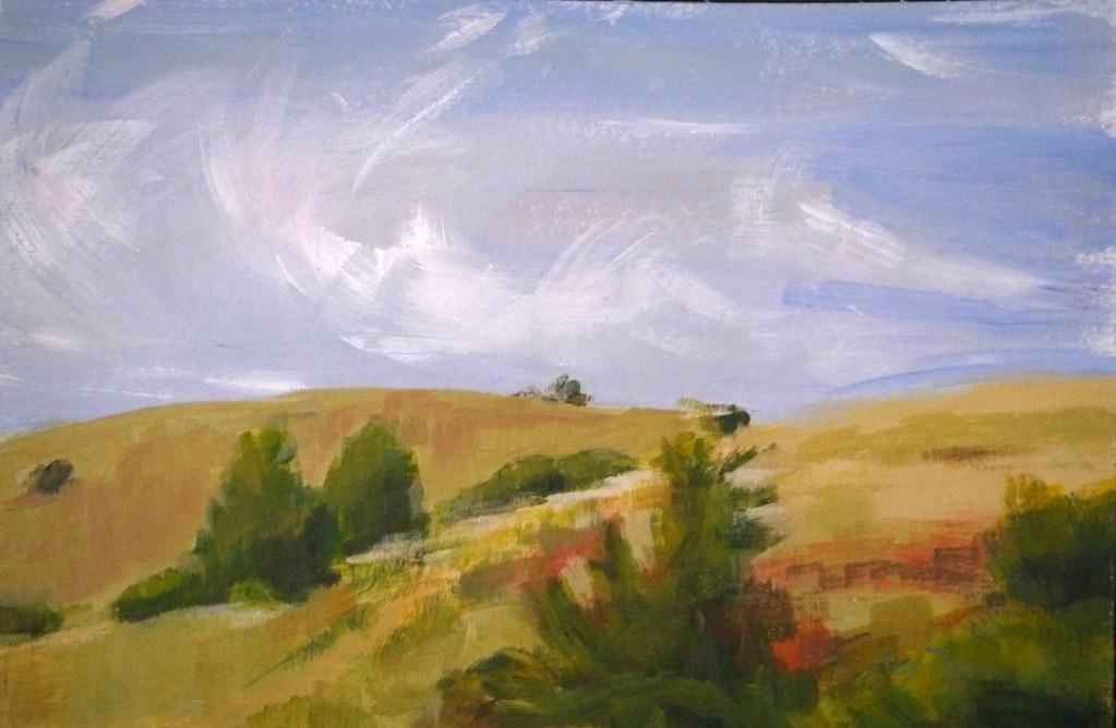 The hills of Walla Walla