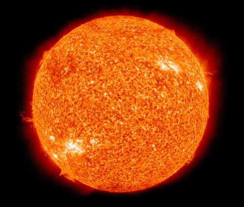 Sun Photo by NASA and Wikipedia