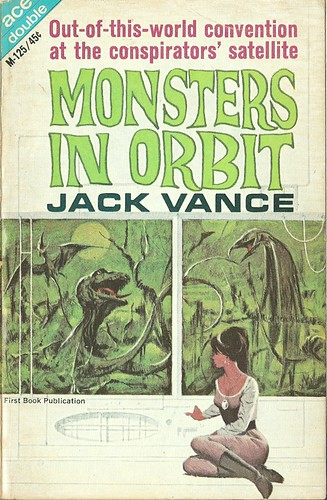 Jack Vance - Monsters in Orbit (Ace M-125, 1965)